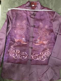Ladies Chinese Blouse / Jacket (embroidered Phoenix)