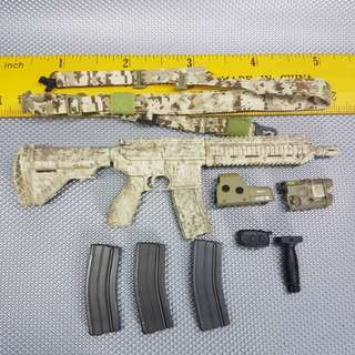 1/6 Scale SS057 Operation Neptune's Spear Seal Team 6 - AOR1 HK416 Rifle