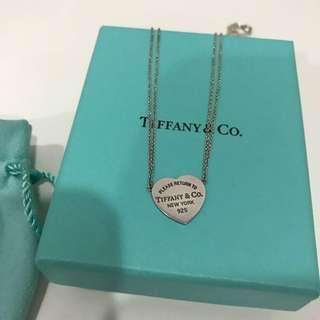 Tiffany & Co Return to Tiffany Heart Pendant Necklace