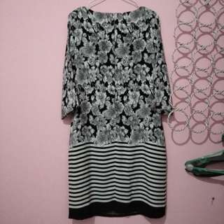 Tunik dress flower Eprise