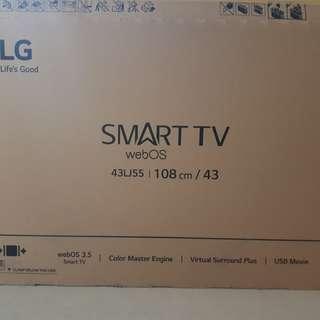 43' LG Smart TV