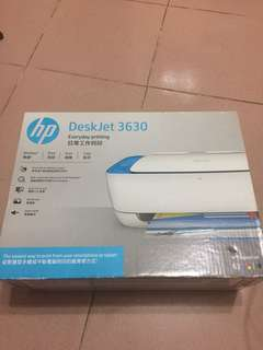 HP DeskJet 3630 打印機 (列印,掃描,影印)