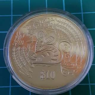 $10 Rat sliver coin