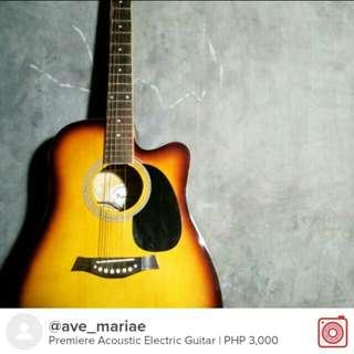 Premiere Acoustic Electric Guitar