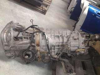 08 Hb Subaru 6 speed gear box  swap with 5 speed gear box