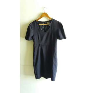 (Repriced) Suitables Navy Pencil Dress