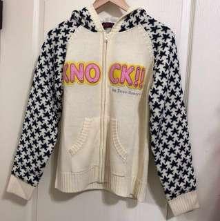 🚚 日本製_棒球針織外套