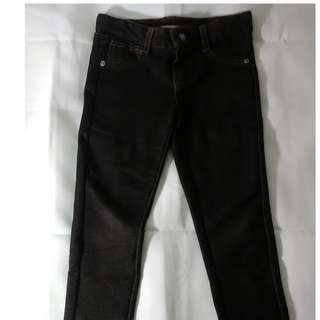 Black/Dark Gray Jeggings