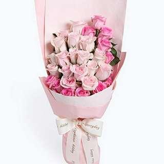 Flower Bouquet∕Hand Bouquet∕Birthday Bouquet∕Anniversary Bouquet∕Proposal Bouquet - 81D9