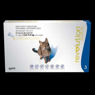 (PROMO $25.60!!) Revolution for adult cats
