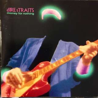 【CD Sale】Dire Straits - Money For Nothing 1988 USA Press