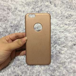 Miniso iPhone 6/6s Rose Gold Matte Case
