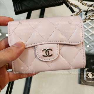 Chanel 卡包 雙隔羊皮