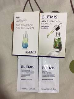 Elemis sample products kit (in travel pack)