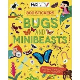☺ [ Brand New ]  Factivity Bugs and MinibeastsDiscover the Facts! Do the Activities!  By:Anna Claybourne,Gerald Legg(Editor),Beatrice Costarnagna(Illustrator)  Paperback