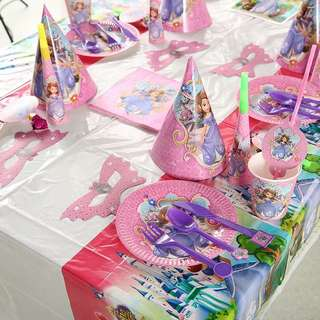 Party supplies equipments