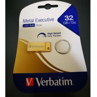 Verbatim 32GB USB 3.0 pendrive / flash drive (New)