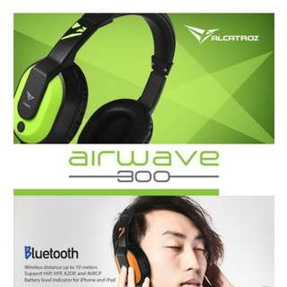 Alcatroz Airwave 300 Bluetooth Headphone