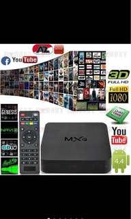 Brand New- 📺 MXQ 4K 8G TV Box (fully loaded XBMC)