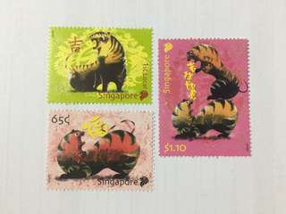 Singapore 2010 zodiac series tiger mnh