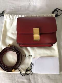 Celine mini red box