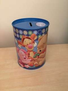 Pooh & Friends Coin Bank