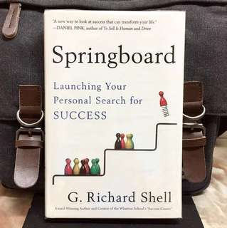 # Highly Recommended《New Book Condition +A New Way To Look At Success From Inside-Out That Can Transform Your Life》G. Richard Shell - SPRINGBOARD : Springboard : Launching Your Personal Search for SUCCESS