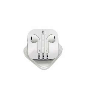 Best CT Iphone 5 Earphone Handsfree With Mic Control Putih