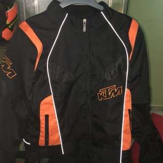 KTM padded jacket