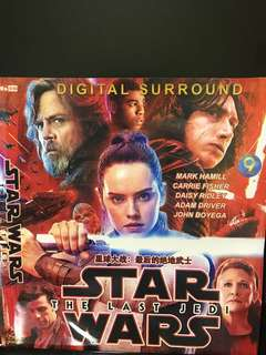 Dvd English movie, Star Wars, The Last Jedi