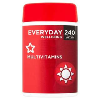 Everyday Wellbeing Multivitamins 240 Tablets