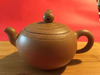 紫砂茶壼: 如相片所示