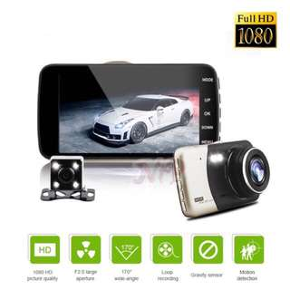 🔆Promotion🔆 Front+Rear Car Camcorder Full HD