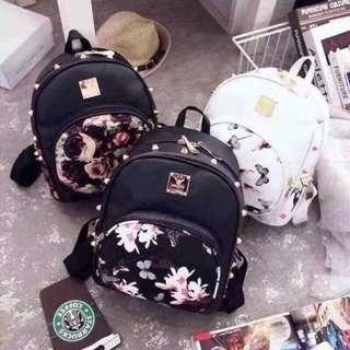 Korean Floral Bags