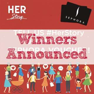 WIN RM100 Sephora Voucher when you share #HerStory!