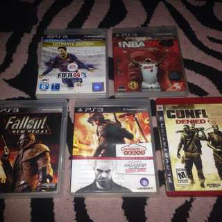 Ps3 Game 3 for Only 499 plus free 2 CD