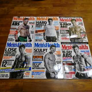 Magazines - Men's Health (back issues)