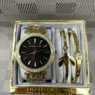 COD Authentic Michael Kors Original MK Watches with bracelet/bangle
