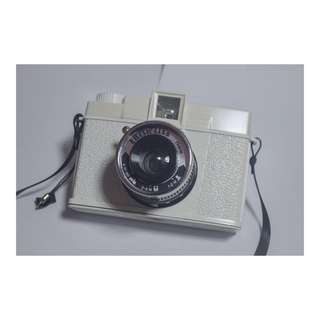 Diana+ Film Camera Edelweiss Edition with 35mm Back Adapter & 20mm Fisheye Camera Lens