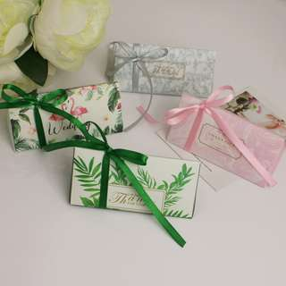 Wedding favors/ Candy Box/ Berkat