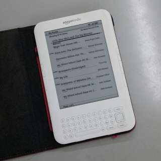 Kindle 3rd generation free 3g network 95% new