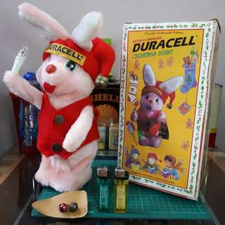 CHRISTMAS DURACELL BUNNY Vintage 1997 * REDUCE PRICE