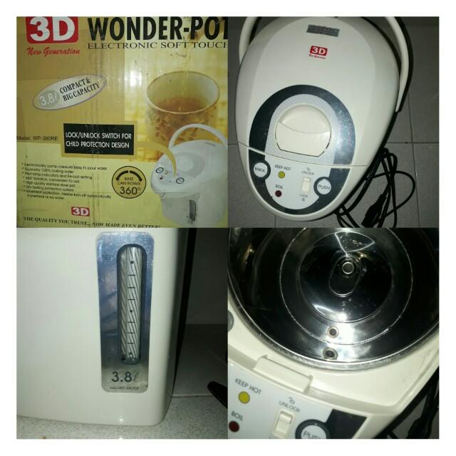 3D wonder pot