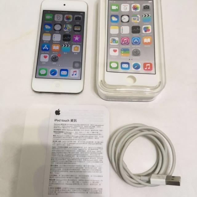 9成5新 iPod touch 6 銀色 16GB