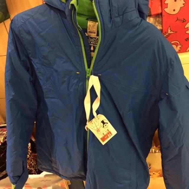 迪卡濃;男童滑雪/防潑水/防寒羽絨外套