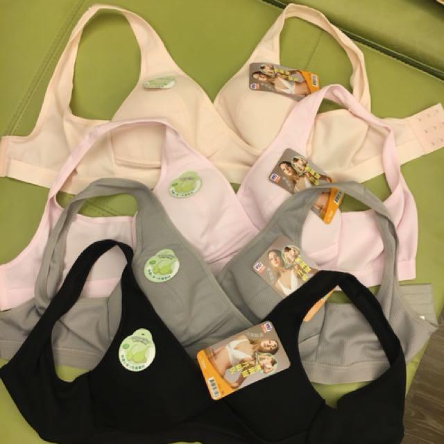 台灣製造哺乳、孕期內衣(無鋼圈)(吸濕排汗透氣)