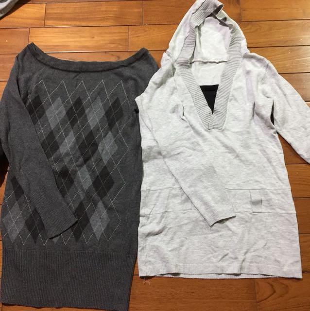 長版上衣兩件