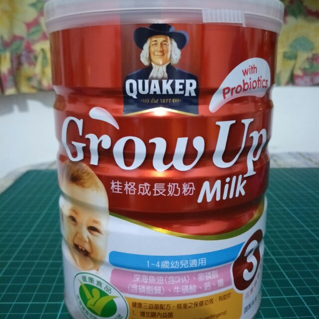 桂格成長奶粉