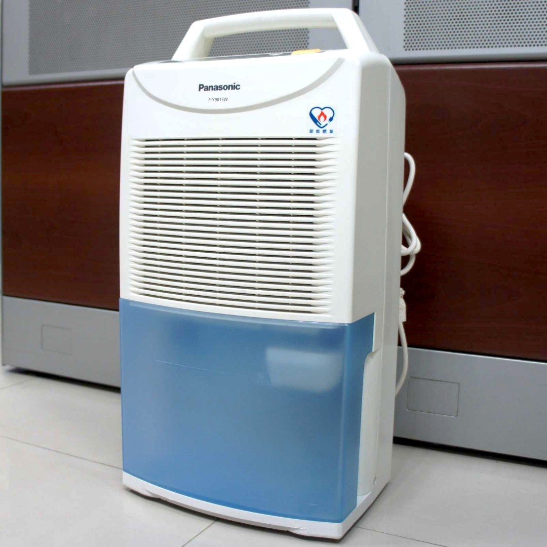 二手除濕機 國際牌 F-Y901SW-水藍 ◎連續除濕/空氣清淨(8成新)5.8/日公升