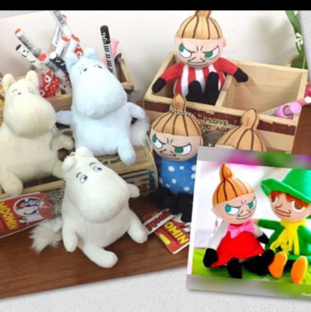 全新 嚕嚕米 mooning 姆明 阿美 小不點 亞美 lulumi吊飾 鑰匙圈 小玩偶 限量 生日禮物 交換禮物